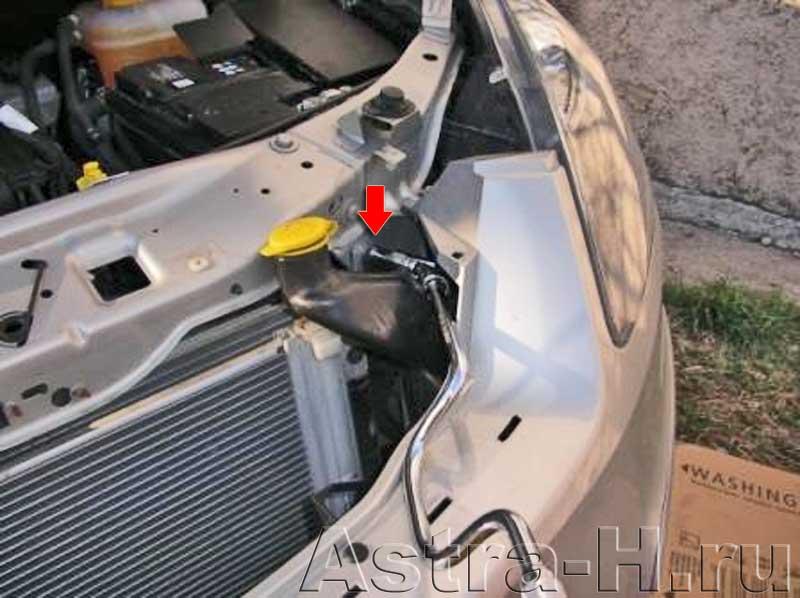 Снять бачок омывателя на форд с макс фото 157-399